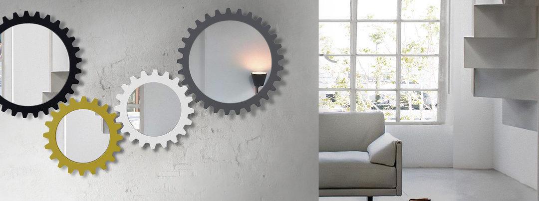 4 formas de decorar con espejos tu hogar
