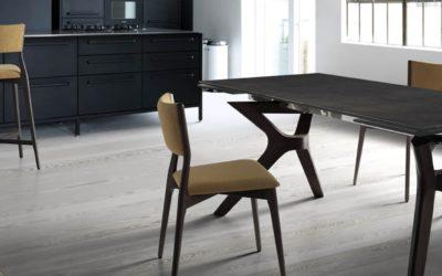 Mesas familiares, pero también muy elegantes